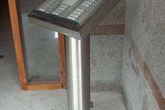 Ειδική Κατασκευή INOX για κουδούνια εισόδου