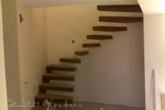 Σκάλα Μεταλλική Οξυδομένη